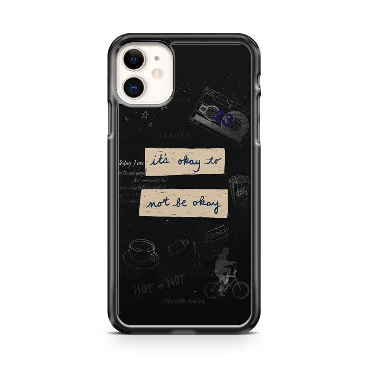 13 Reasons Why Fond D Ecran Crecre iPhone 11 Case Cover