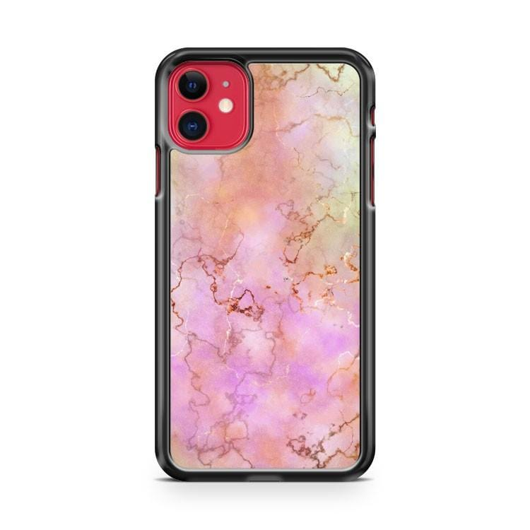 Pink Marble Stone iPhone 11 Case Cover