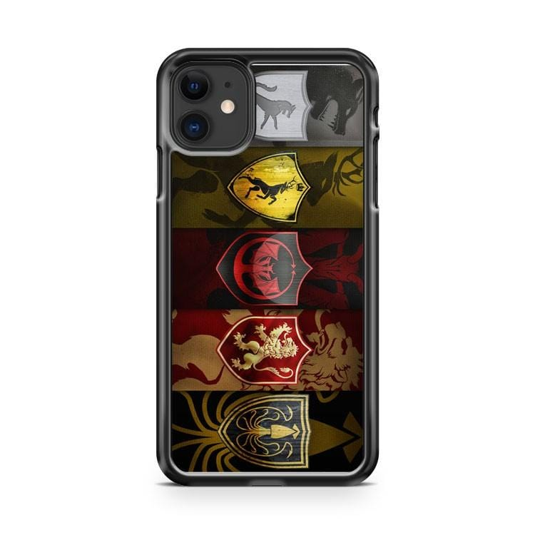 Kingdoms Logo From Game Of Thrones iPhone 11 Case Cover