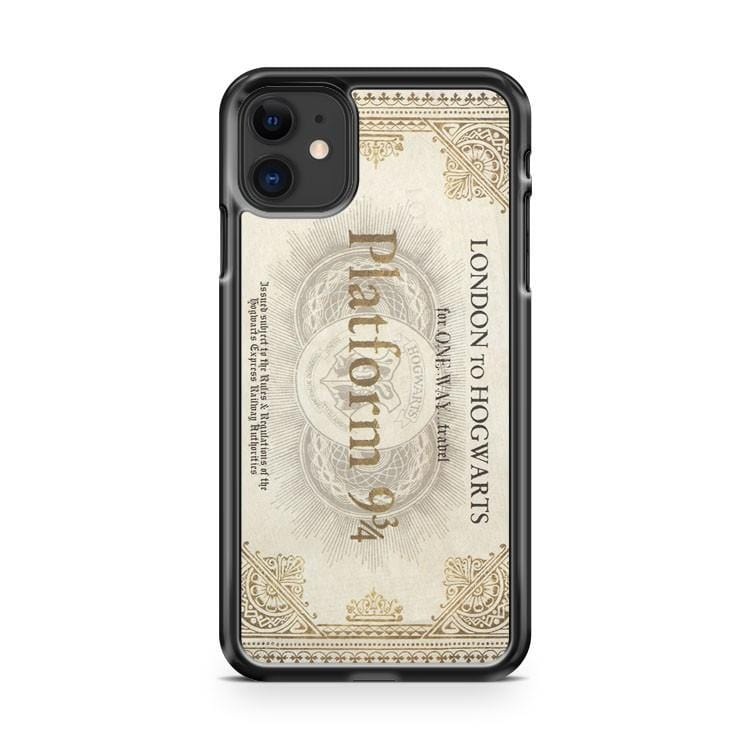 Platform 934 Ticket iPhone 11 Case Cover