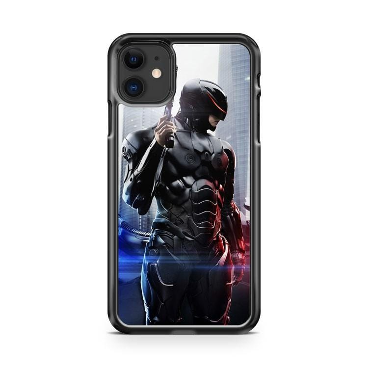 Robocop Movie 2014 Poster iPhone 11 Case Cover