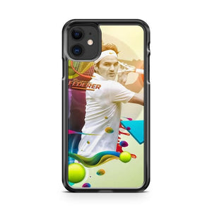 Roger Federer Painting iPhone 11 Case Cover