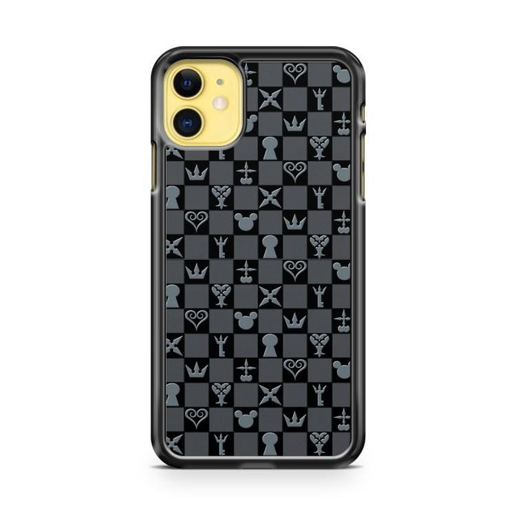 Kingdom Hearts Symbol Pattern iPhone 11 Case Cover