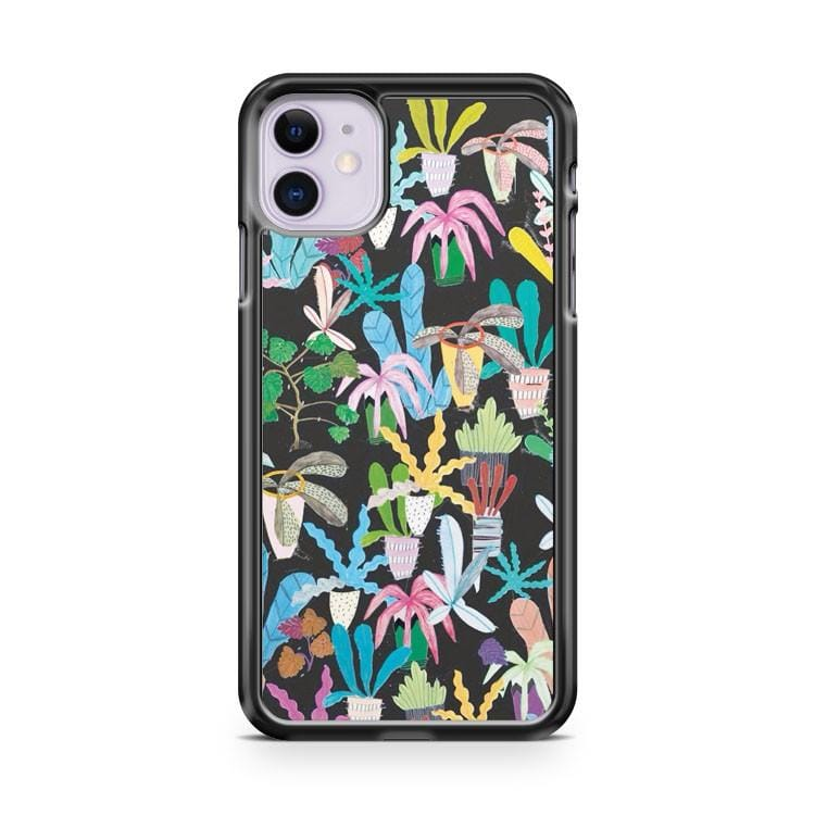 Plant Pattern Color iPhone 11 Case Cover