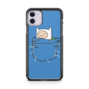 Pocket Finn Adventure Time iPhone 11 Case Cover