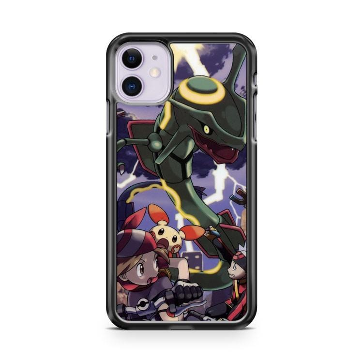 Pokemon Angry Rayquaza iPhone 11 Case Cover