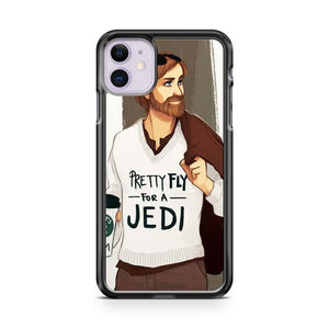 Pretty Fly For A Jedi iPhone 11 Case Cover