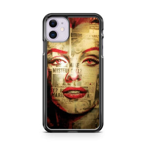 Red Marilyn iPhone 11 Case Cover