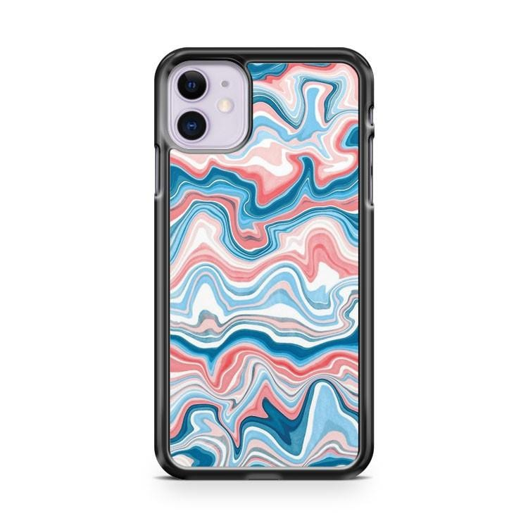Redblue Marble iPhone 11 Case Cover