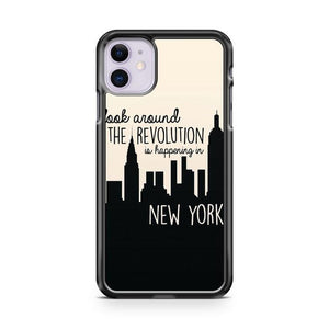 Revolution In Nyc iPhone 11 Case Cover