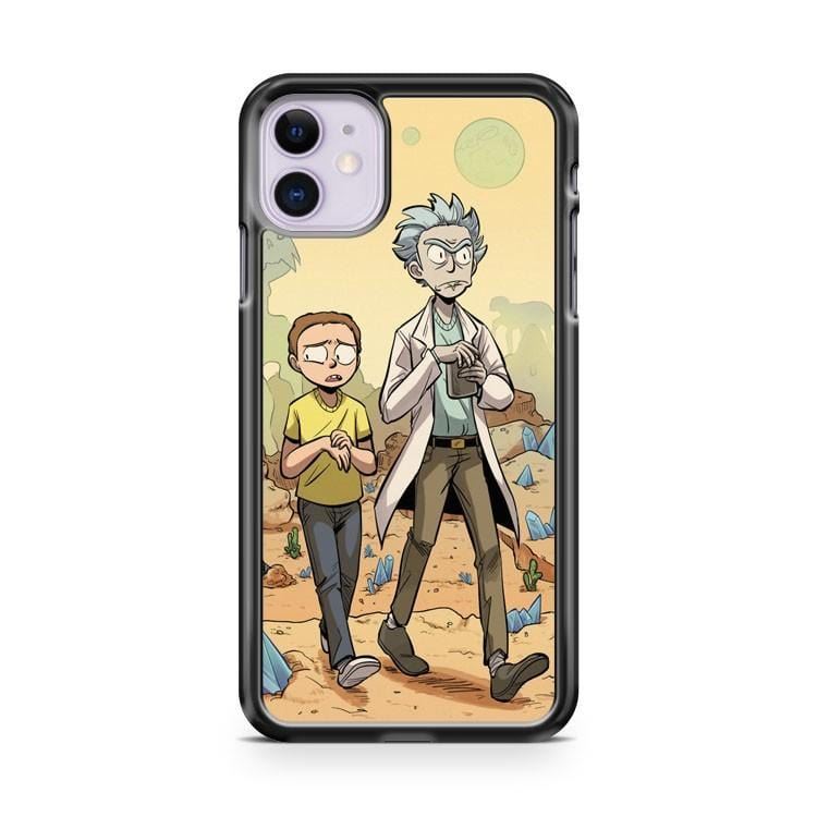 Rick And Morty Print iPhone 11 Case Cover