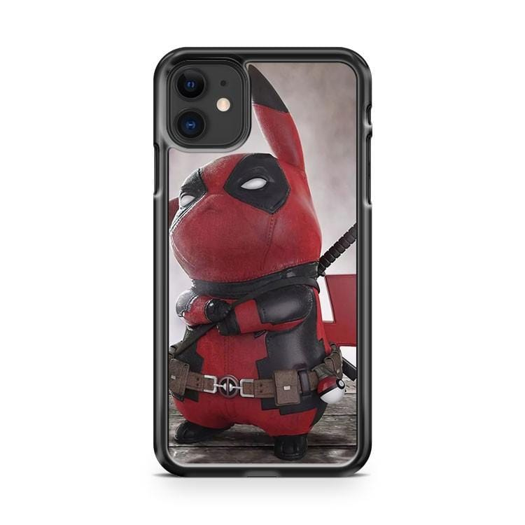 Pikachu Deadpool Pokemon iPhone 11 Case Cover