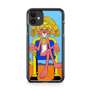 Pink Panther Egyptian Pharoah iPhone 11 Case Cover