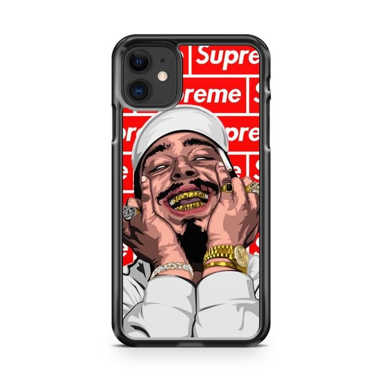 Post Malone Red Suprim iPhone 11 Case Cover