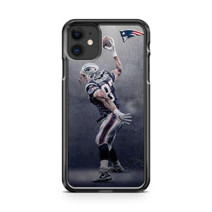 Rob Gronkowski Patriots NFL Football iPhone 11 Case Cover