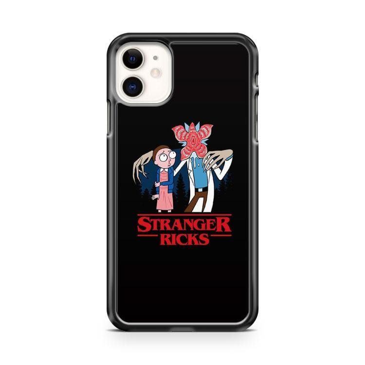 Rick And Morty Stranger Ricks iPhone 11 Case Cover