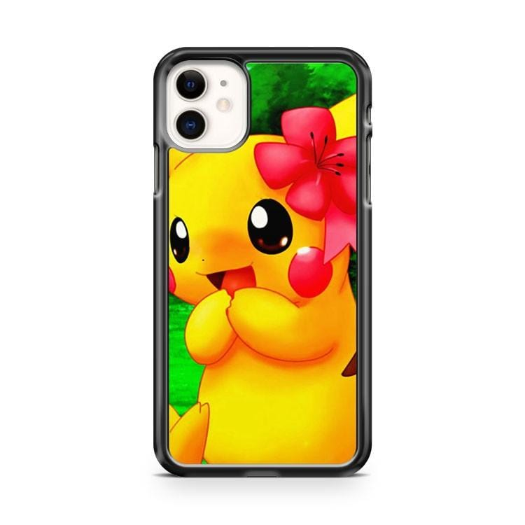 Pikachu Pokemon Cute iPhone 11 Case Cover