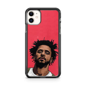 Pink J Cole Forest Cartoon Album iPhone 11 Case Cover