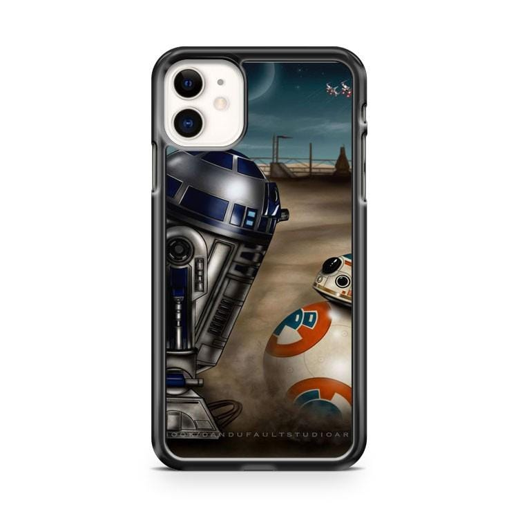 R2D2 And Bb 8 Robot Star Wars iPhone 11 Case Cover