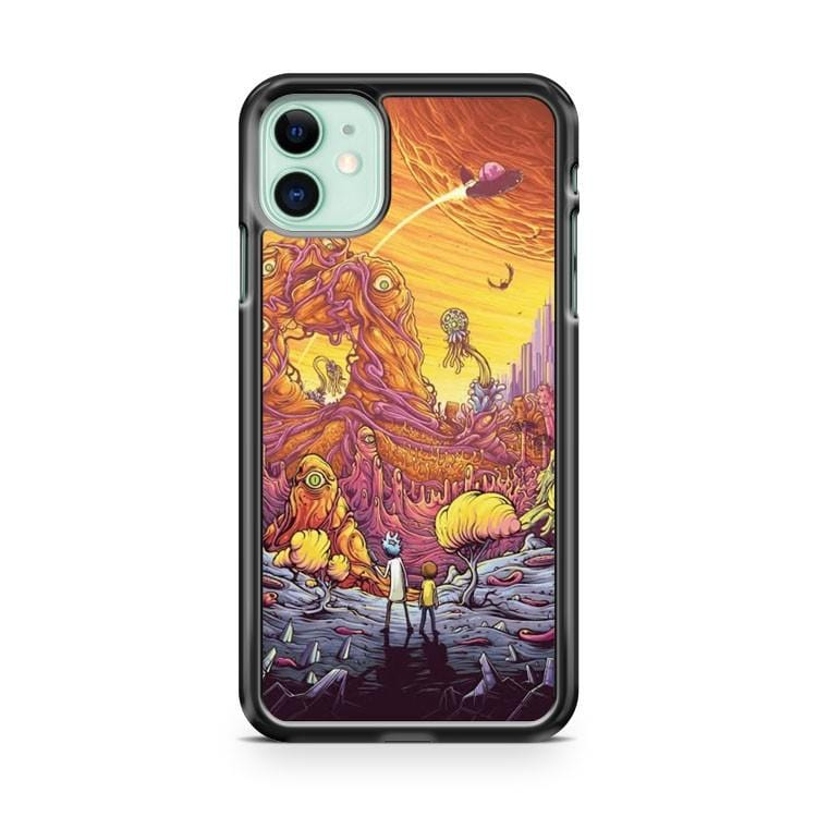 Rick And Morty Art Show iPhone 11 Case Cover