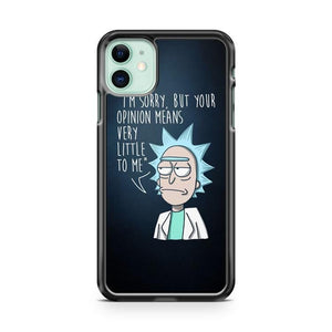 Rick And Morty Quote iPhone 11 Case Cover