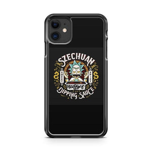 Rick And Morty Szechuan Dipping Sauce iPhone 11 Case Cover