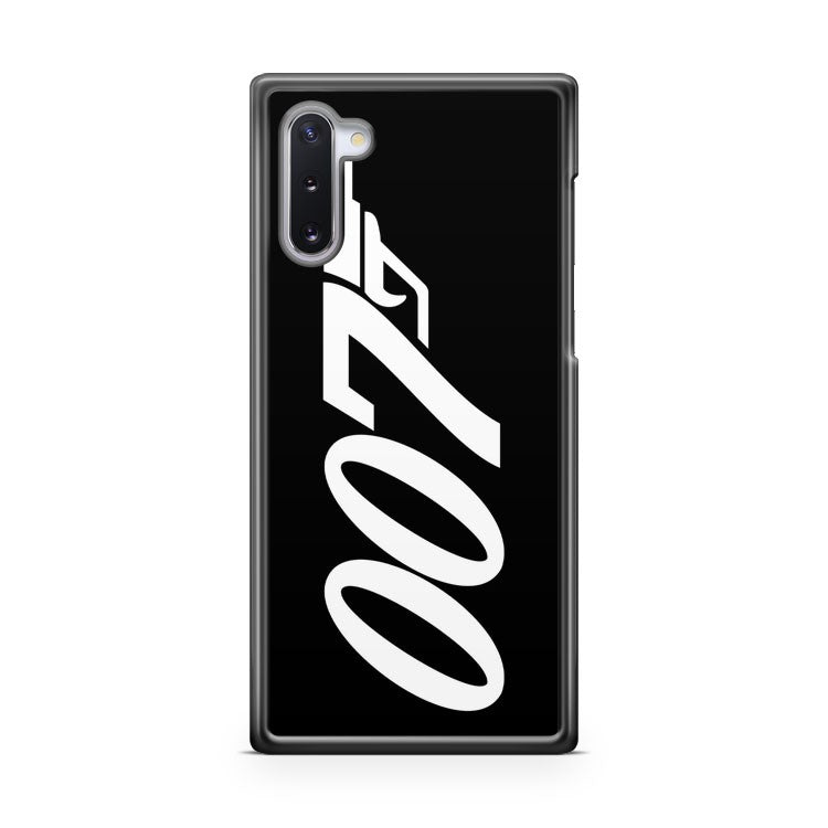 007 James Bond White And Black Samsung Galaxy Note 10 Lite Case Cover