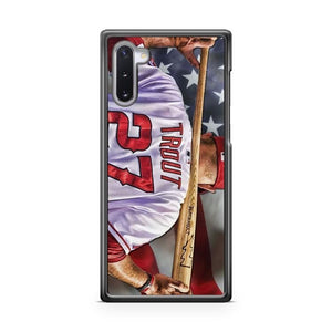 Mike Trout Los Angels Anaheim Samsung Galaxy Note 10 Lite Case Cover