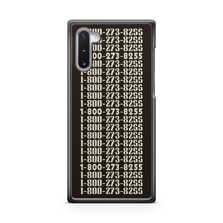 1 800 273 8255 Logic And Juanes Samsung Galaxy Note 10 Lite Case Cover