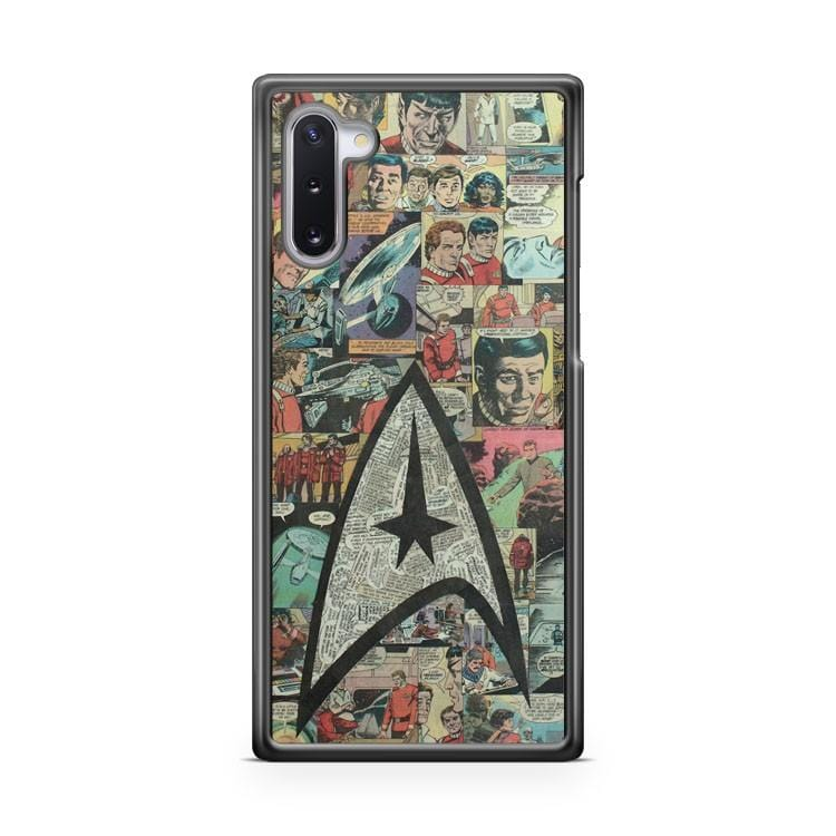 Star Trek Comic Collage Samsung Galaxy Note 10 Lite Case Cover