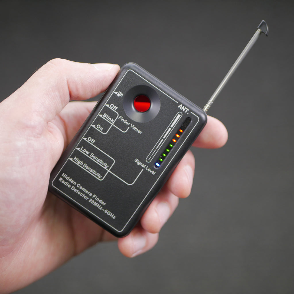 LM-8 Hidden Camera & Bug Detector in Hand