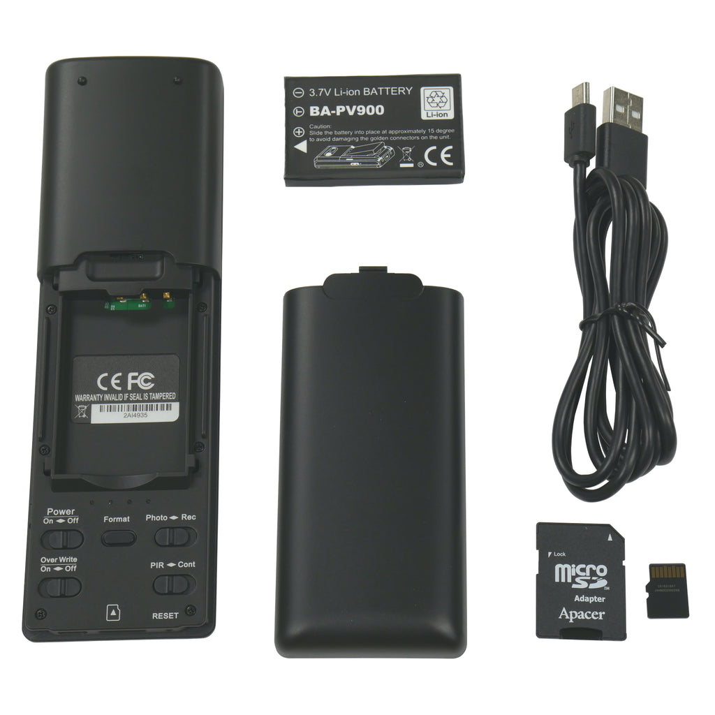 TV Remote Control Hidden Camera With Accessories
