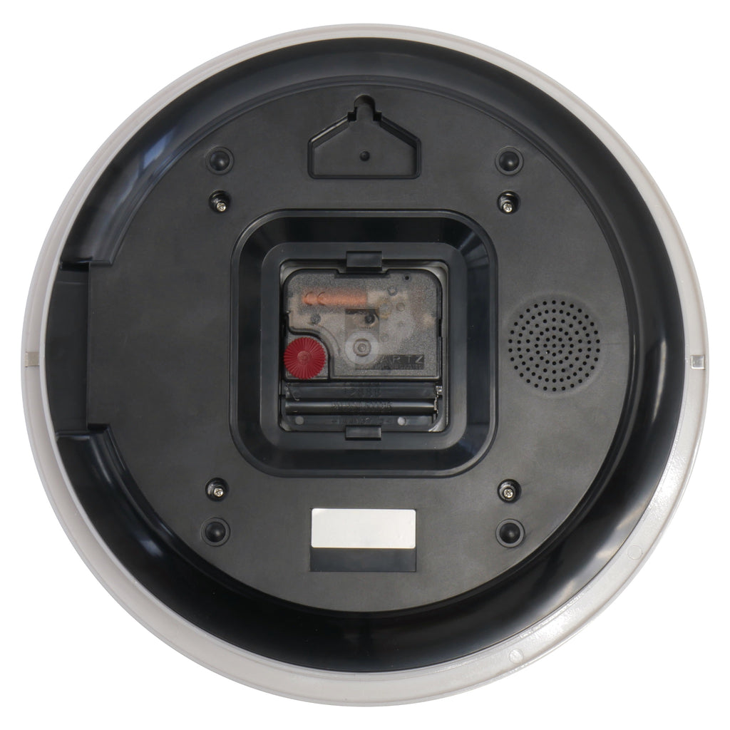 Wall Clock Speaker Camera Rear View
