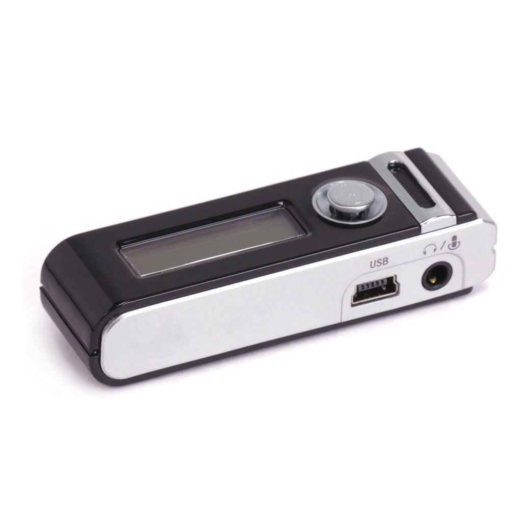 Micro Stick Voice Activated Audio Recorder Side View