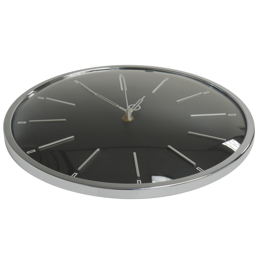 Wall Clock Camera Angled View