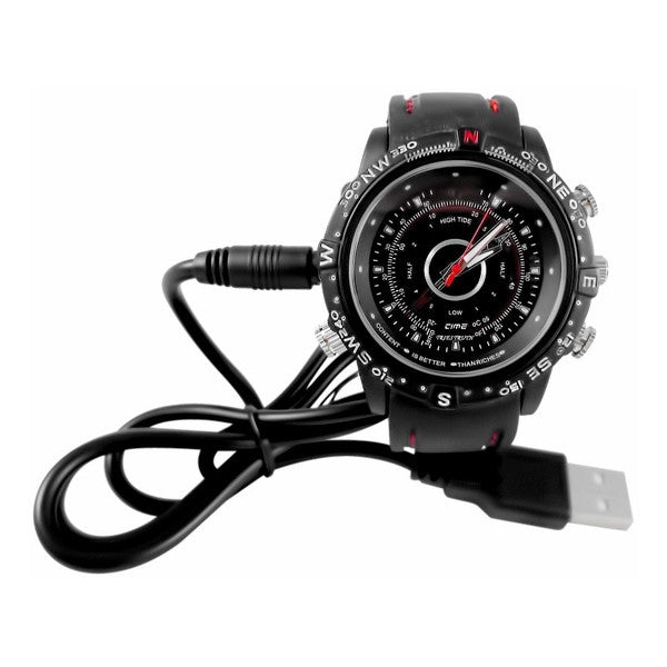 Spy Watch Covert Camera with Cable