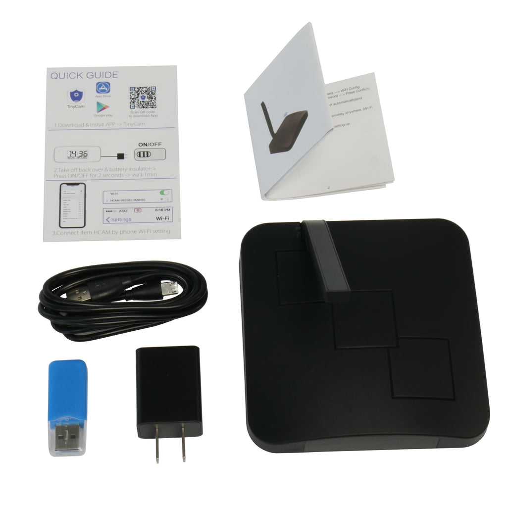 WiFi Router Hidden Camera With Accessories