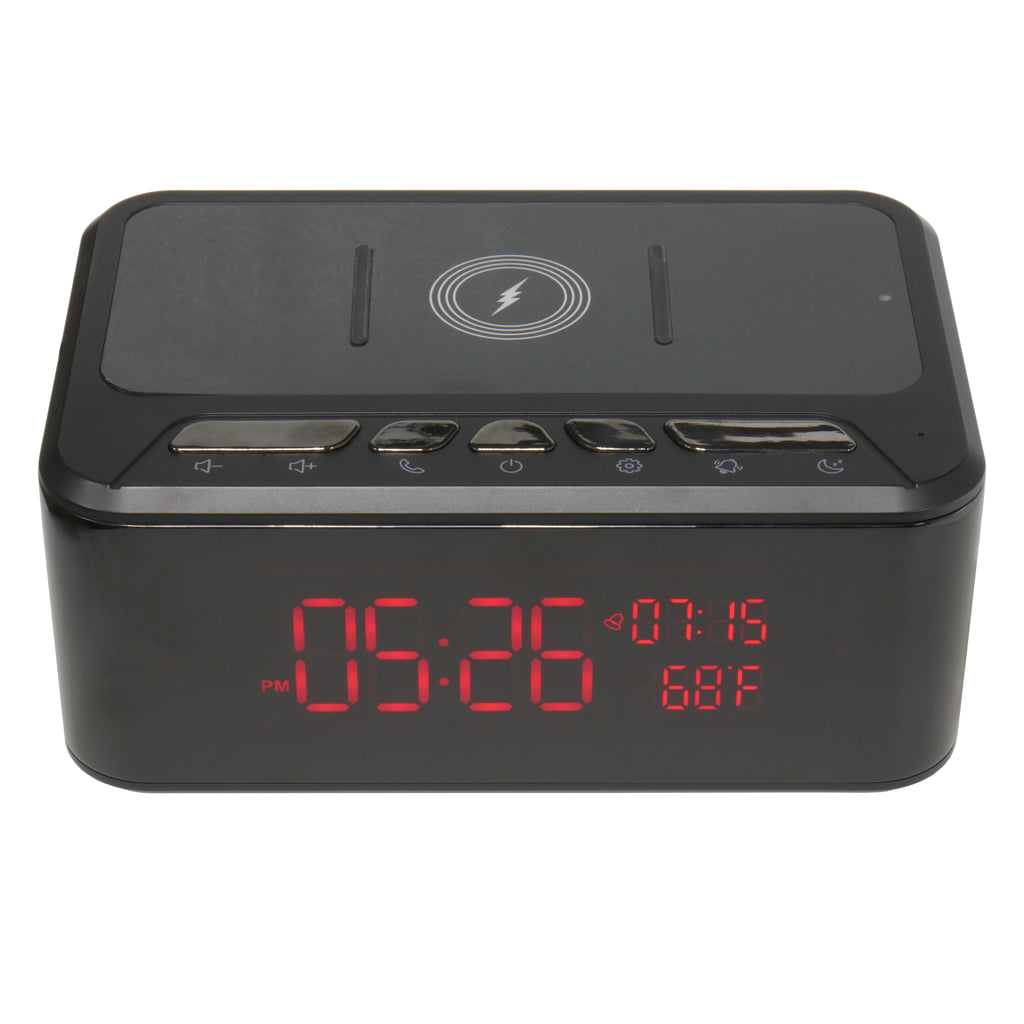 Wireless Charger Clock Speaker