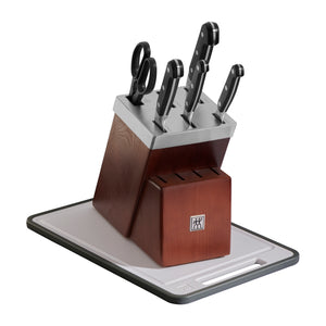 ZWILLING Pro 7-pc Self-Sharpening Knife Block Set - The Cook's Nook Gourmet Kitchenware Store Tulsa OK