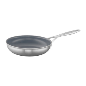 Demeyere Industry 5-Ply 8-inch Stainless Steel Ceramic Nonstick Fry Pan - The Cook's Nook Gourmet Kitchenware Store Tulsa OK
