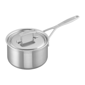 Demeyere Industry 2-qt Stainless Steel Saucepan - The Cook's Nook Gourmet Kitchenware Store Tulsa OK