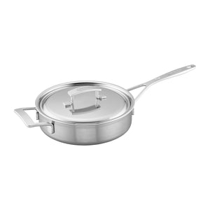 Demeyere Industry 5-Ply 3-qt Stainless Steel Saute Pan - The Cook's Nook Gourmet Kitchenware Store Tulsa OK