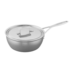 Demeyere Industry 5-Ply 3.5-qt Stainless Steel Essential Pan - The Cook's Nook Gourmet Kitchenware Store Tulsa OK