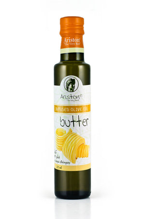 Ariston Butter Infused Olive Oil 8.45 fl oz - The Cook's Nook Gourmet Kitchenware Store Tulsa OK