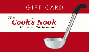Gift Card - The Cook's Nook Gourmet Kitchenware Store Tulsa OK
