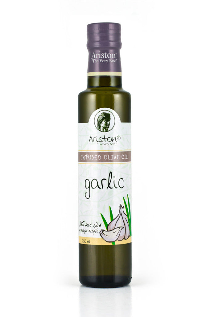 Ariston Garlic Infused Olive oil 8.45 fl oz