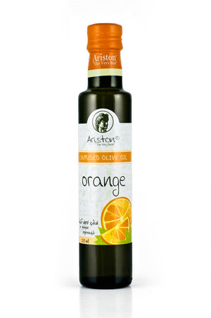 Ariston Orange Infused Olive oil 8.45 fl oz - The Cook's Nook Gourmet Kitchenware Store Tulsa OK