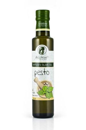 Ariston Pesto Infused Olive oil 8.45 fl oz - The Cook's Nook Gourmet Kitchenware Store Tulsa OK