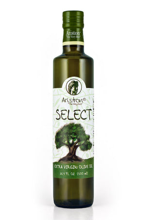 Ariston Select Extra Virgin Olive Oil 16.9 fl oz - The Cook's Nook Gourmet Kitchenware Store Tulsa OK