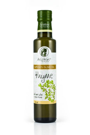 Ariston Thyme Infused Olive oil 8.45 fl oz - The Cook's Nook Gourmet Kitchenware Store Tulsa OK
